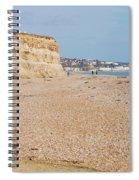 Glyne Gap Beach In England Spiral Notebook