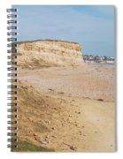 Glyne Gap Cliffs In Sussex Spiral Notebook