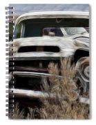 G M Old Pickup Spiral Notebook