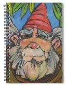 Gnome 2 Spiral Notebook