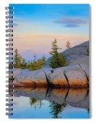 Gnome Tarn Rocks Spiral Notebook
