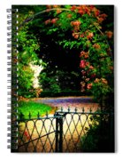 Go And Smell The Roses Spiral Notebook