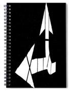 Go Back Or Go Left Spiral Notebook