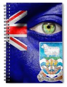 Go Falkland Islands Spiral Notebook