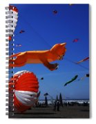 Go Fly A Kite 1 Spiral Notebook