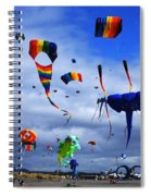 Go Fly A Kite 4 Spiral Notebook