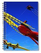 Go Fly A Kite 7 Spiral Notebook