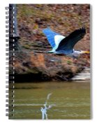 Go Heron Go Spiral Notebook