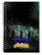 Go Indians Spiral Notebook