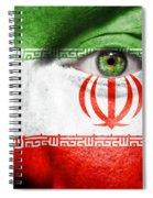 Go Iran Spiral Notebook