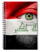 Go Iraq Spiral Notebook