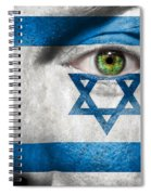 Go Israel Spiral Notebook