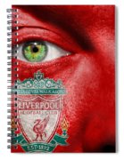 Go Liverpool Fc Spiral Notebook