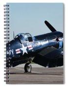 Go Navy Spiral Notebook