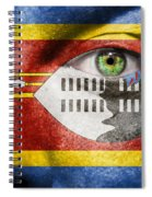 Go Swaziland Spiral Notebook