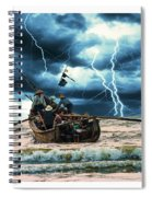 Go Though The Storm Spiral Notebook