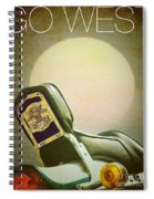 Go West Spiral Notebook