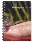 Go With All Your Heart - Confucius Spiral Notebook