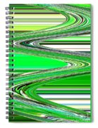 Go With The Flow Spiral Notebook