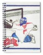 Goalie By Jrr Spiral Notebook