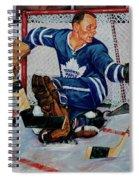 Goaltender Spiral Notebook