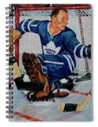 Goaltender Spiral Notebook