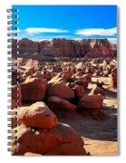 Goblin Valley  Spiral Notebook