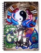 God And Gaia Spiral Notebook