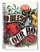 God Bless Our Home Spiral Notebook