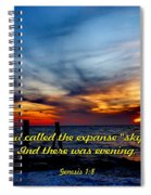 God Called It Sky Spiral Notebook