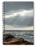 God Rays Spiral Notebook