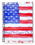 God Shed His Grace On Thee Spiral Notebook