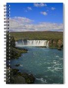 Godafoss Waterfall  Spiral Notebook