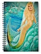 Goddess Atargatis 1000 Bc Spiral Notebook