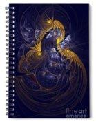Goddess Of Healing Energy Spiral Notebook
