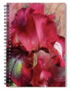 Goddess Of Passion Spiral Notebook