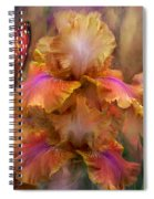 Goddess Of Sunrise Spiral Notebook