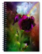 Goddess Of The Rainbow Spiral Notebook