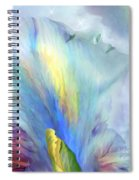 Goddess Of Thought Spiral Notebook