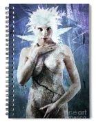 Goddess Of Water Spiral Notebook