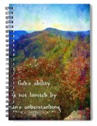 Gods Ability Spiral Notebook