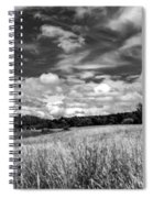 God's Country In Monochrome Spiral Notebook