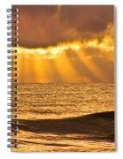 God's Eyelashes Spiral Notebook