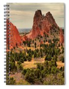 Gods Garden In Colorado Spiral Notebook