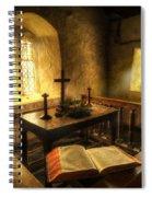 God's Holy Light Spiral Notebook