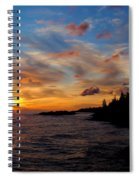 God's Morning Painting Spiral Notebook