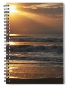 God's Rays Spiral Notebook