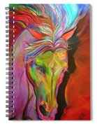 God's War Horse Spiral Notebook