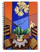 Gods Yellow Orchids Spiral Notebook