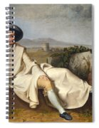Goethe In The Roman Campagna Spiral Notebook